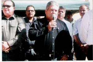 Maximino, lider estatal de burócratas.