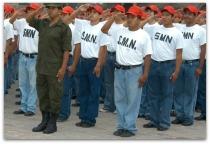 a servicio militar