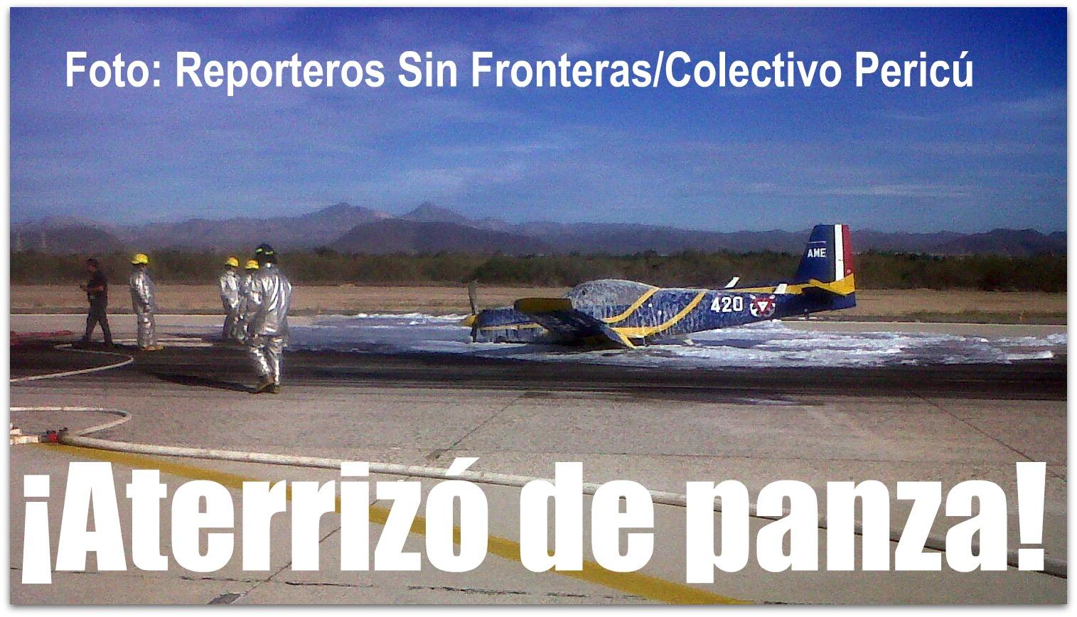 Accidentes de Aeronaves de la SEMAR. Noticias,comentarios,fotos,videos.  Avion-aeropuerto-de-la-paz