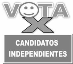 candidatos independientes