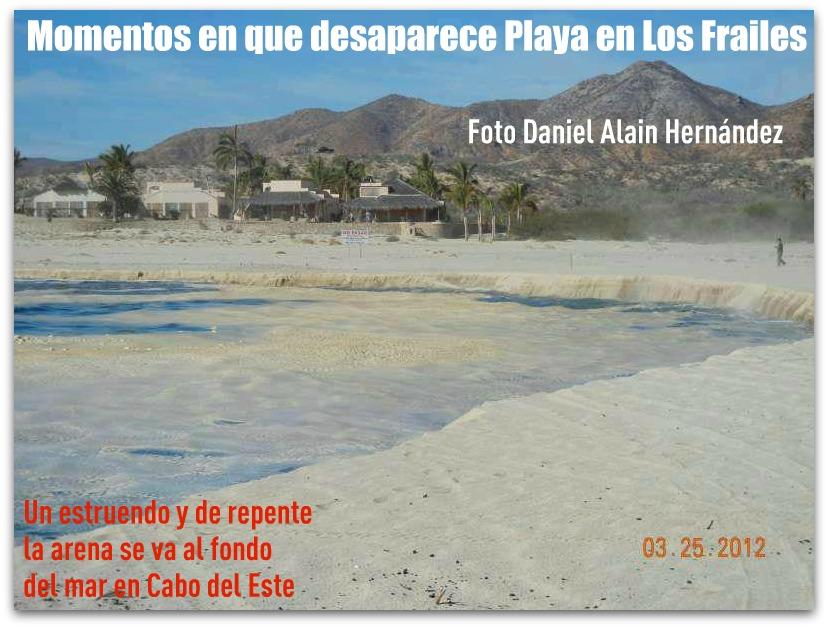 Se hunde playa en Baja California Sur 2-momentos-en-que-desaparece-playa-los-frailes