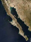 x fede peninsula baja california vista satelite