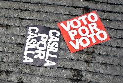 9 voto por voto