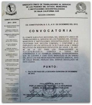 3 - 1 asamblea en ciudad constitución