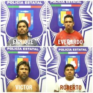 3 - 1 apedrearon a policias