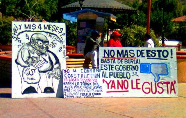 2 - 1 aaa protesta contra el guille santillan