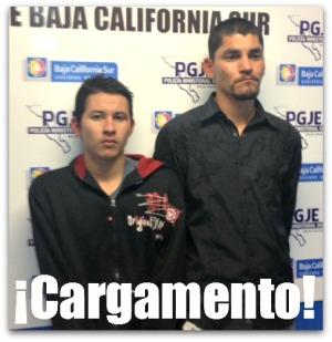 2 - 1 detenidos COE IRAD ABIMAEL AGUILAR ACOSTA Y EDUARDO LUCERO CARDENAS