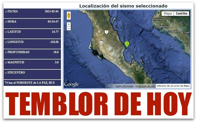 Temblor hoy for Noticias del espectaculo del dia de hoy