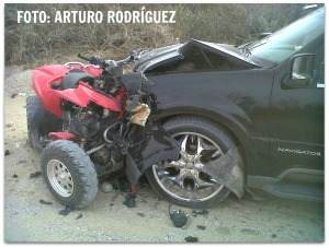 2 - 1 accidente en brecha a puerto sa carlos