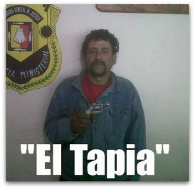 2 - 1 EL TAPIA DETENIDO POR DISPAROS