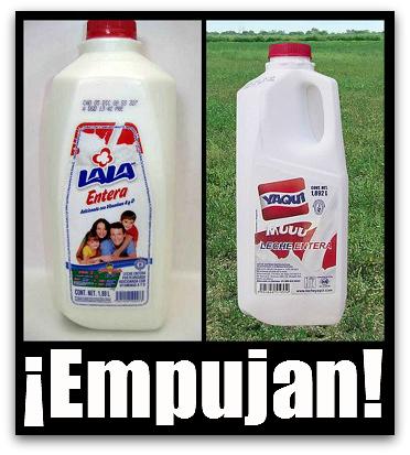 de la leche en san:
