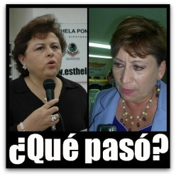 2 - 1 alcaldesa y ex alcaldesa