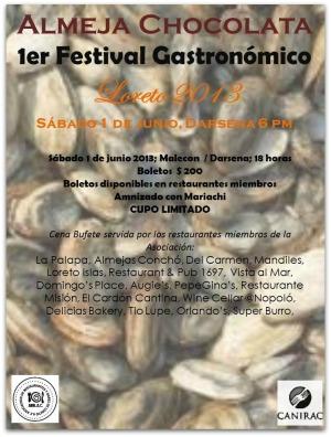 2 - 1 almeja chocolata festival de loreto