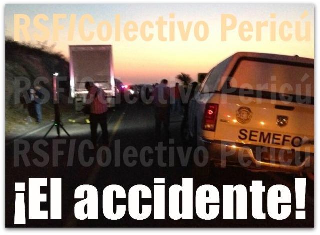 2 - 1 accidente procurador reporteros sin fronteras exclusiva