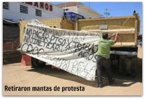 2 - 1 planton de transportistas la paz bcs