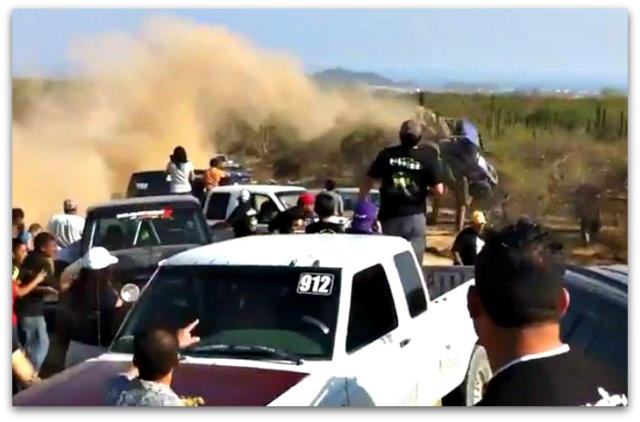 2 - 1 accidente cabo 250 foto del muro de evaristo murillo