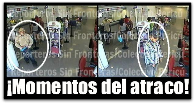2 - 1 asalto a banco del bajio la paz mexico