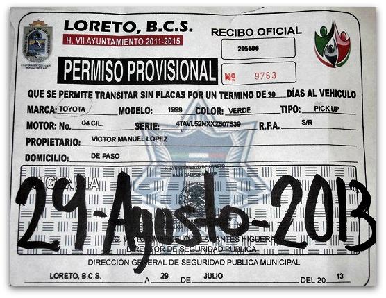 2 - 1 falso documento transito de loreto