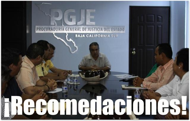 2 - 1 GAMILL ARREOLA LEAL VISITA OFICINAS DE LA PGJEBCS