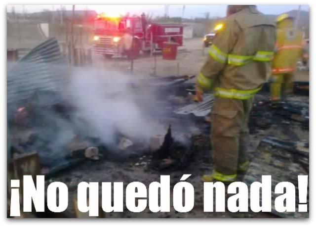 2 - 1 incendio de una casita la paz bcs