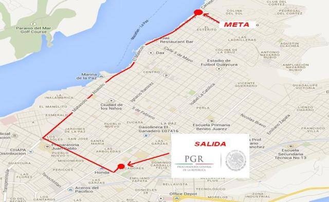 2 - 1 mapa recorrido pedaleando por la prevencion