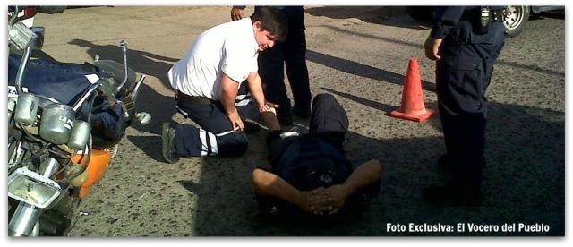 2 - 1 atropellado policia municipal