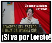 2 - 1 olay davis guadalupe a la alcaldía de loreto
