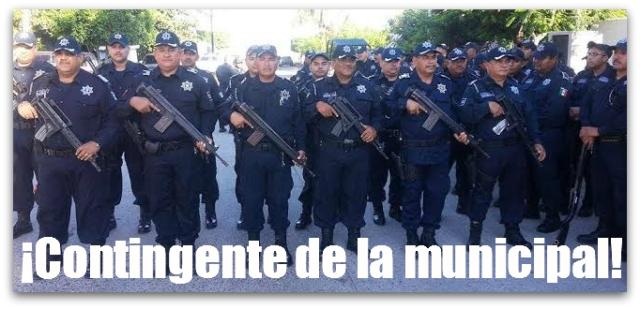 2 - 1 desfile 20 de noviembre policia municipal la paz