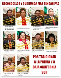 2 - 1 diputados baja california sur traidores