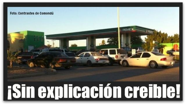 2 - 1 gasolina ciudad constitucion