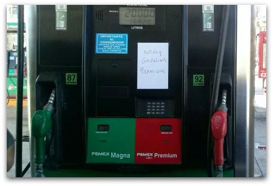 2 - 1 gasolina escasez en los cabos
