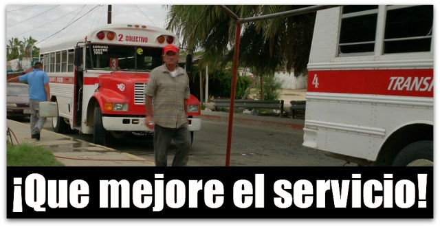2 - 1 peseras san jose del cabo camion urbano