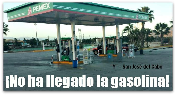 No aparece sobre la gasolina de los floreros 2108
