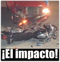 2 - 1 accidente pickup contra moto