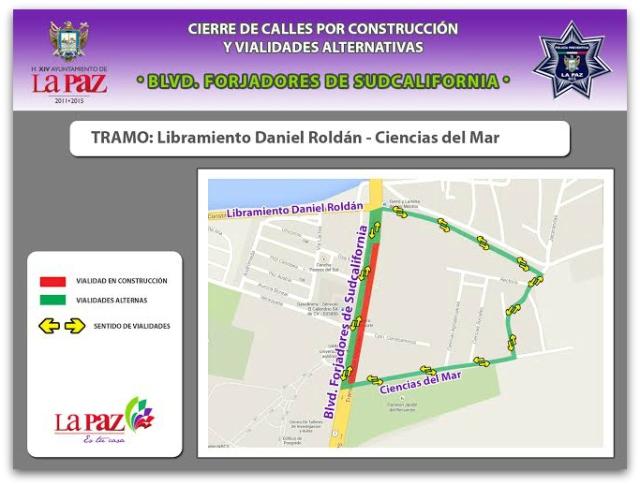2 - 1 cierre de calles en la paz reparacion