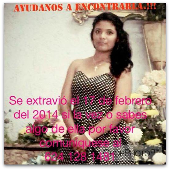 2 - 1 ADOLESCENTE EXTRAVIADA CABO SAN LUCAS