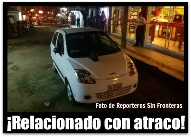 2 - 1 automovil blanco sospechoso asalto cabo san lucas