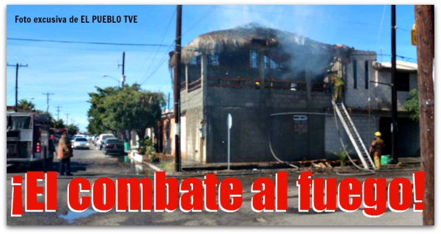 2 - 1 bomberos de la paz incendio