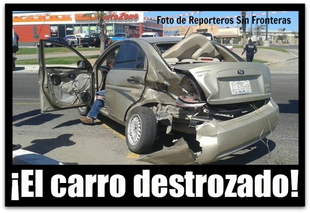 2 - 1 ACCIDENTE A ENTRADA DE WALMART