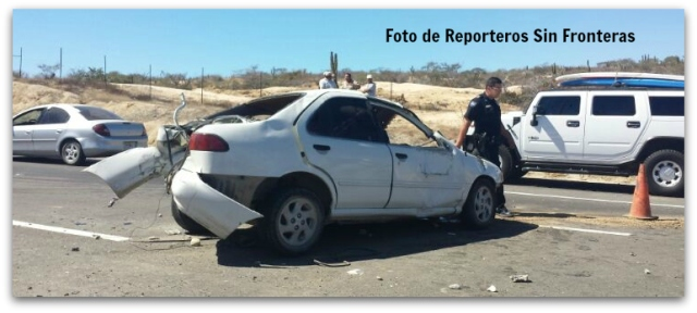 2 - 1 ACCIDENTE FRENTE A HOTEL DREAMS