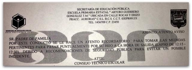 2 - 1 ALERTA ESCUELA CABO SAN LUCAS