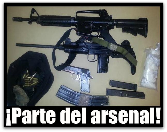Decomis fusiles y droga la pgr colectivo peric for Muebles para guardar armas de fuego