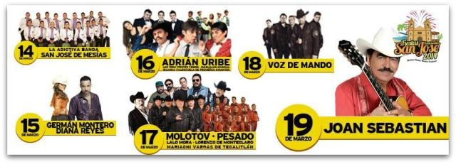 2 - 1 elenco fiestas san jose 2014