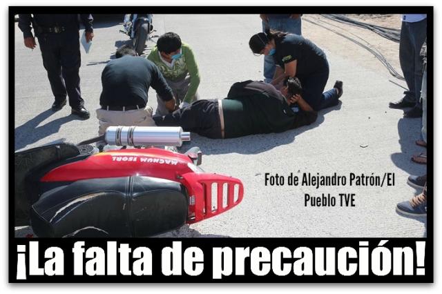 2 - 1 accidente motocicleta colonia juarez