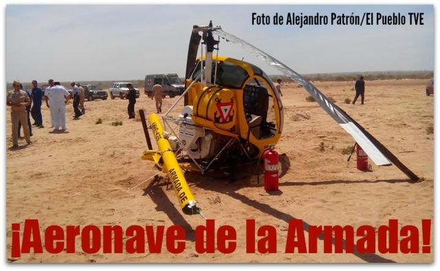 2 - 1 helicoptero ilesos ocupantes