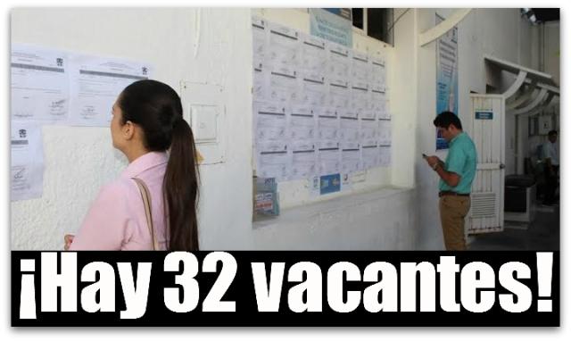 2 - 1 vacantes secretaria de salud