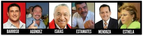 2 - 1 candidatos a gobernadores bcs