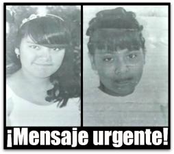 2 - 1 desaparecidas menores de edad
