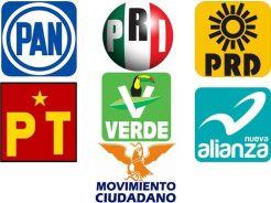 2 - 1 fede partidos politicos logos