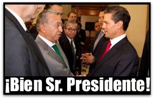 2 - 1 presidente peña nieto con isaias